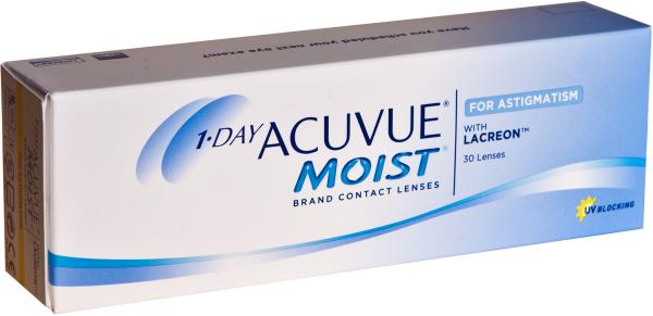 one day acuvue Did you know most contact lenses have only one curvature (ie base curve) to  choose from well, 1-day acuvue moist has two (85 and 90).
