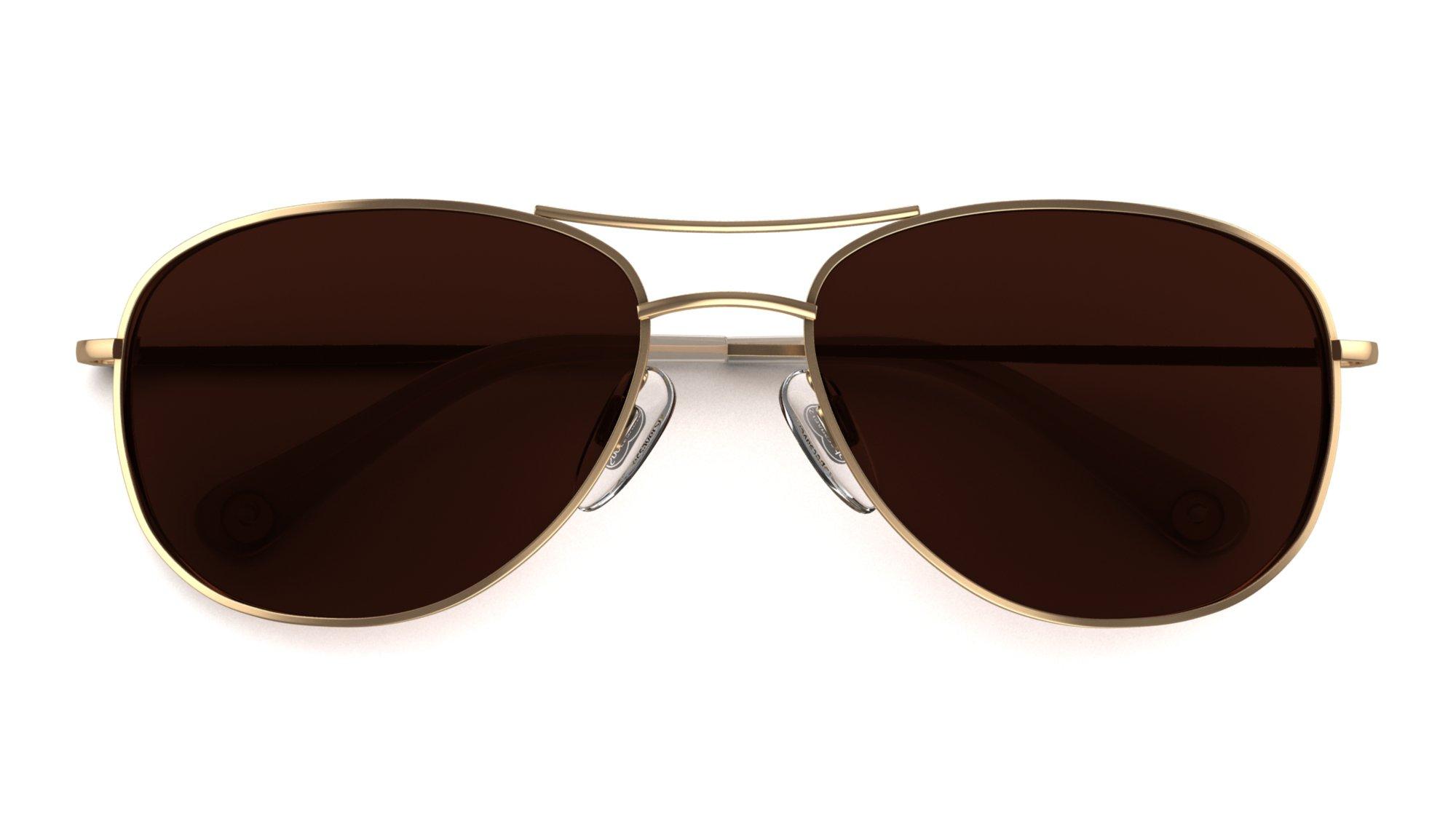 Hjerteformet ansikt, pilotbriller, solbrilletips Specsavers